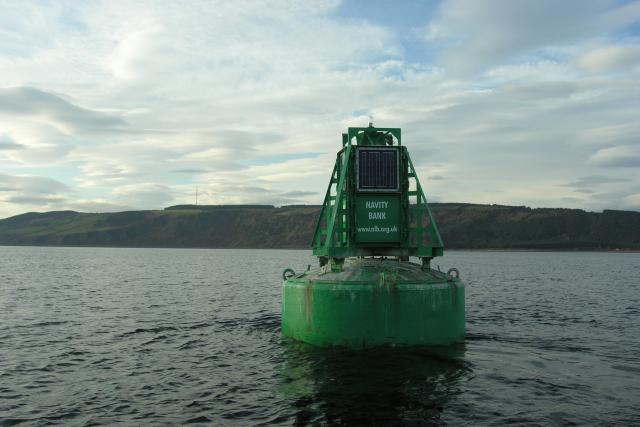 Navity Bank navigation buoy
