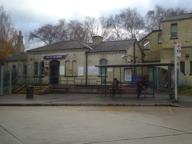Mill Hill East underground station