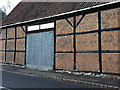 SK5722 : Detail of former barn, 19 Wymeswold Road by Alan Murray-Rust