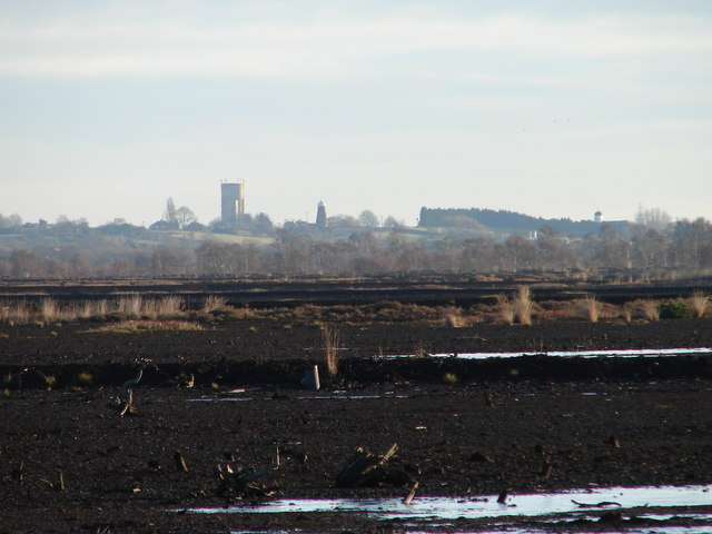 Epworth from Hatfield Moors