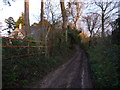 SP3619 : Muddy footpath in Charlbury by Jeremy Bolwell