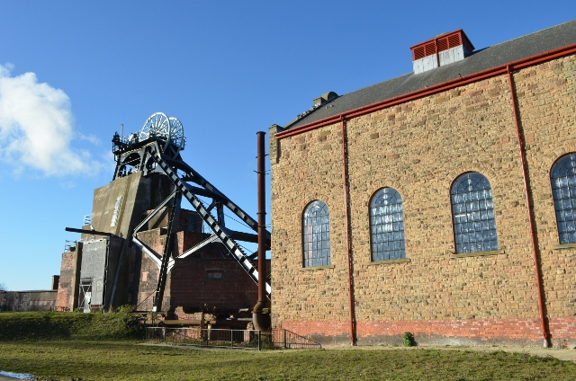 Pleasley Colliery - Southern Shaft
