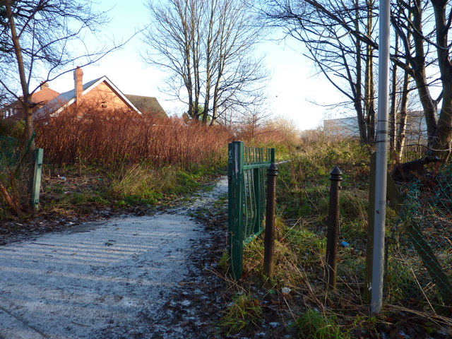 Footpath off Nell Lane