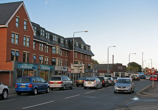 Radcliffe Road: where the railway once crossed
