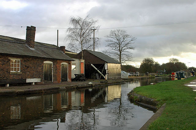 Workshops at Norbury Junction