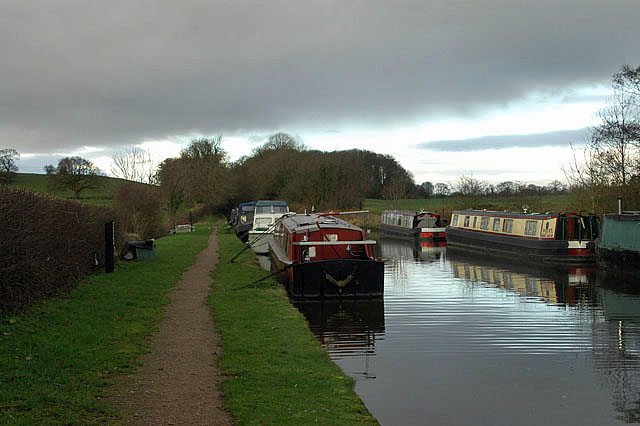 Shropshire Union Canal - just north of Norbury