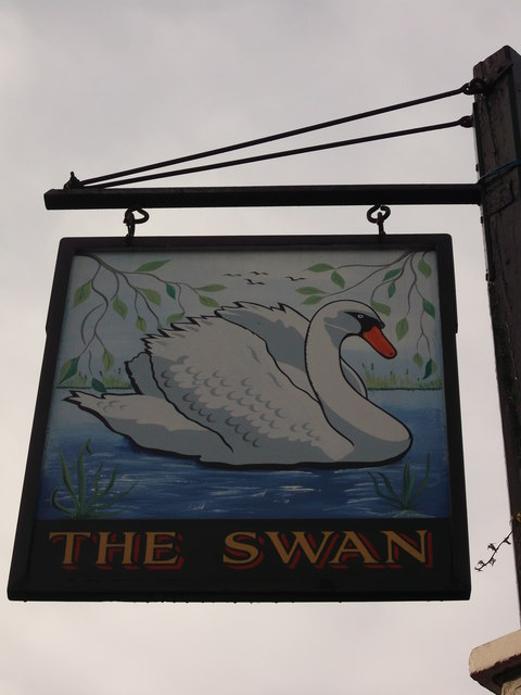 The Swan Pub Sign, West Wickham