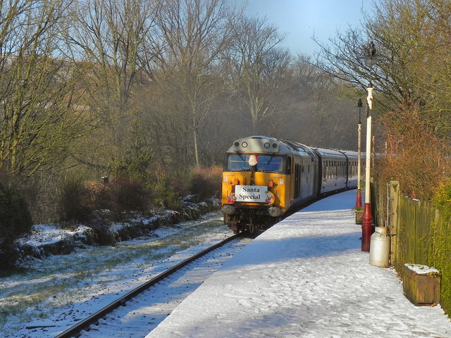 Diesel Train at Summerseat