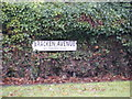 TM2346 : Bracken Avenue sign by Adrian Cable