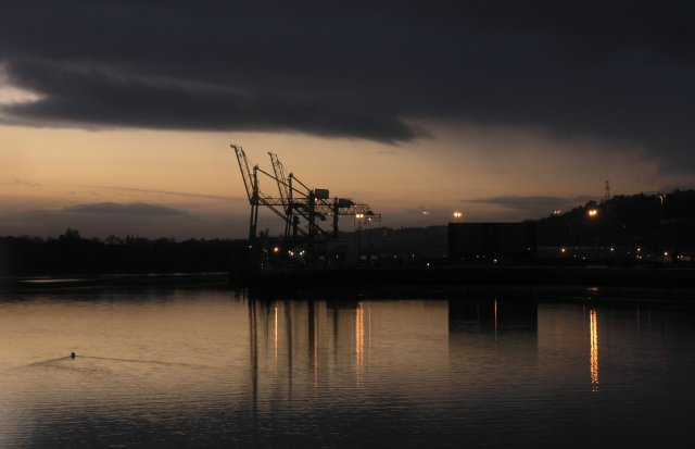 Entrance to Port of Cork