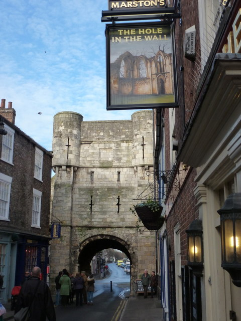 York: Bootham Bar and the Hole in the Wall