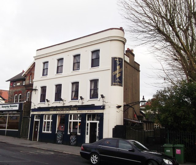 The Conquering Hero  Public House, Norwood