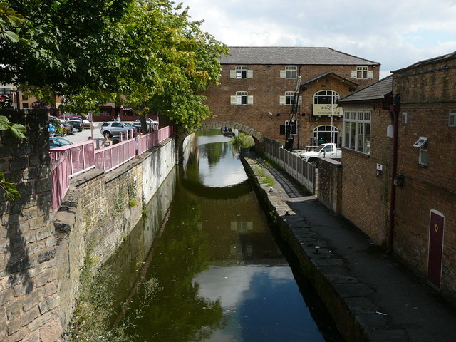 The Chesterfield Canal in Worksop