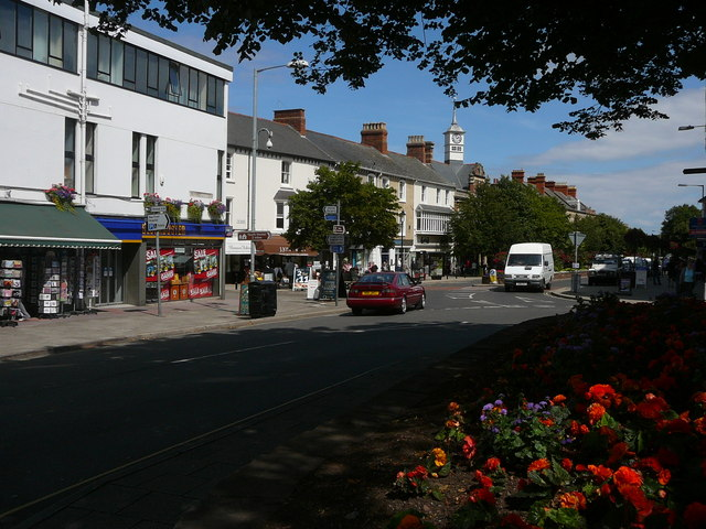 Minehead - Junction of Park Street and Friday Street