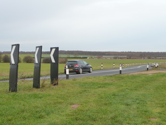Bends on the B1222
