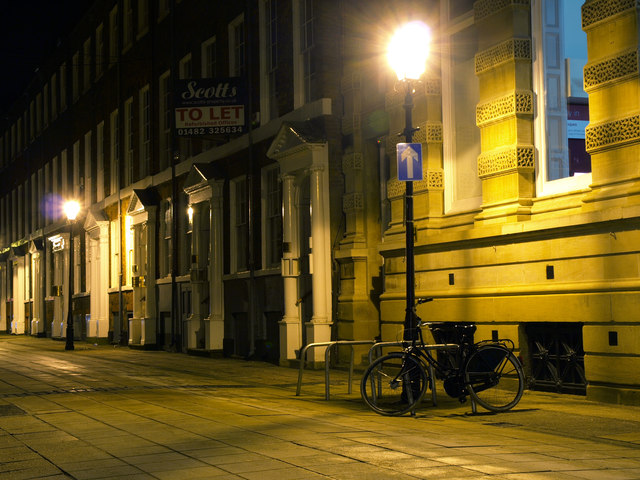Parliament Street in Hull