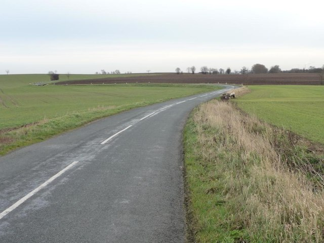 Bends on Whitecote Lane