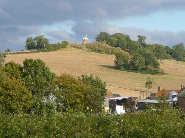 View towards Windmill Hill, Compton Wynyates