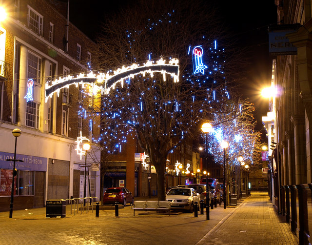 Christmas Lights in Saville Street