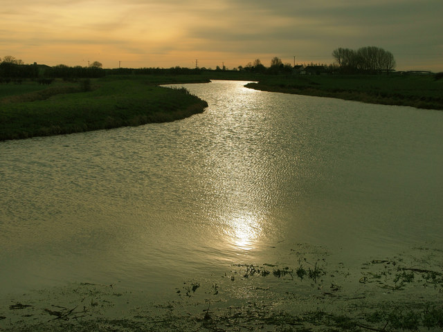 The River Hull near Jarrett's Ings