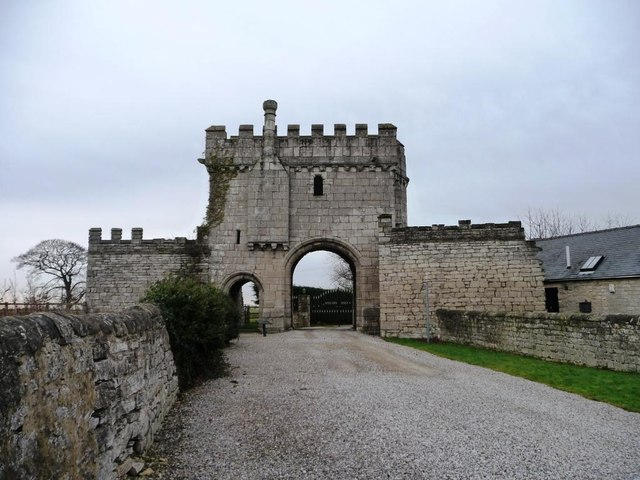 Steeton Hall Gateway [or Steeton Gatehouse]