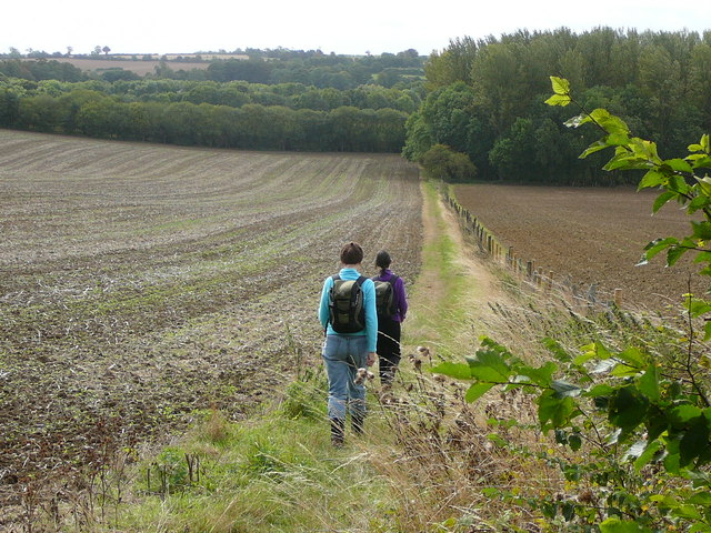Setting out from Aynho on the path to Souldern