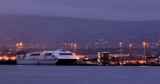 """The """"Stena Voyager"""", Belfast (2)"""