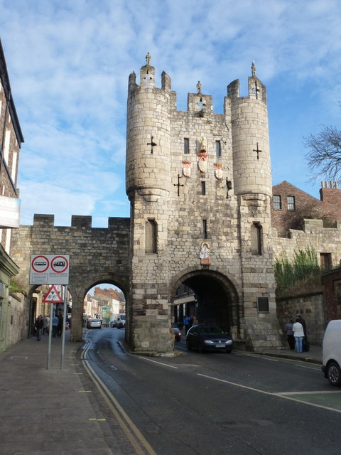 York: Micklegate Bar