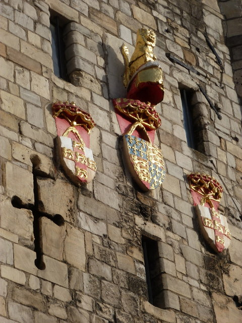 York: detail of Micklegate Bar