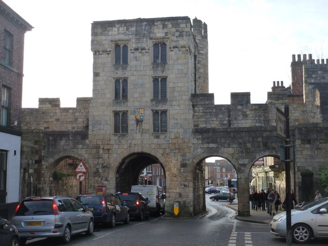 York: Micklegate Bar from within