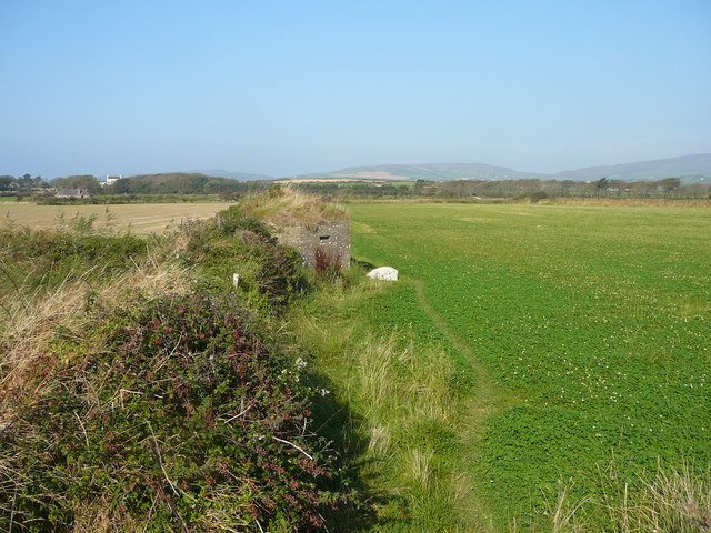 Pill box on path north west of Castletown