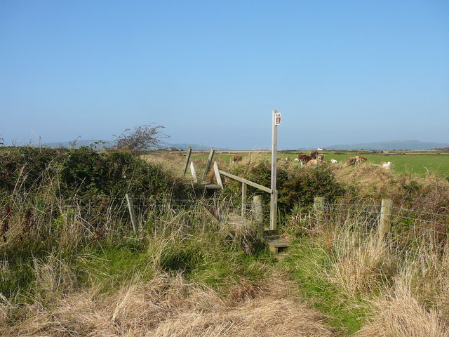 Footbridge on path between Castletown and Pooilvaaish