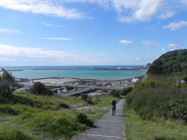 Saxon Shore Way and Dover Harbour