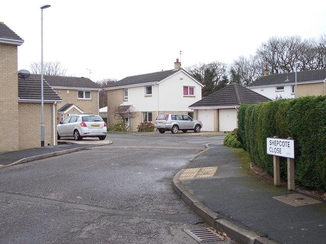 Shepcote Close - Shepcote Crescent