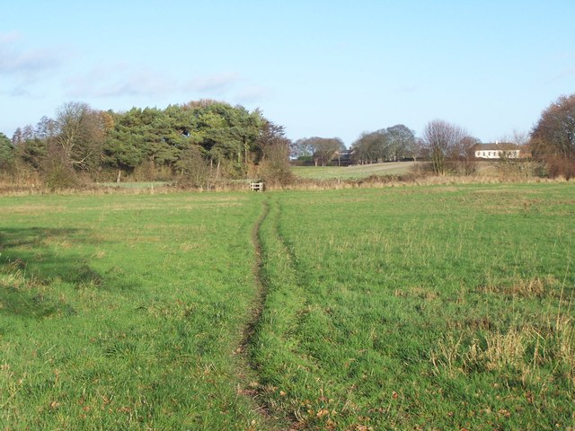 Footpath Near Footherley
