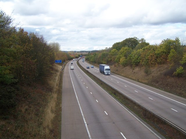 M54 Westwards