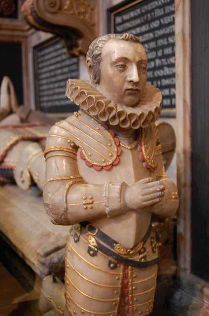 Roger Manners, Memorial, St Mary's church, Bottesford