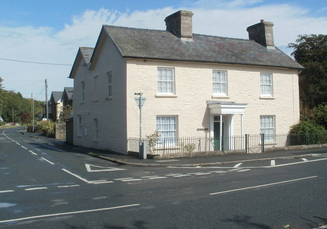 Grade II listed Crescent House, Glasbury