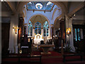 TQ1877 : St Anne's church, Kew: interior by Stephen Craven
