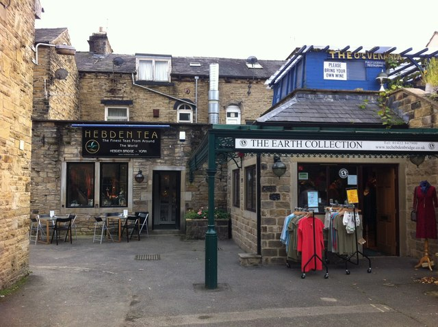 Hebden Tea and the Earth Collection - The Courtyard, Bridge Gate, Hebden Bridge