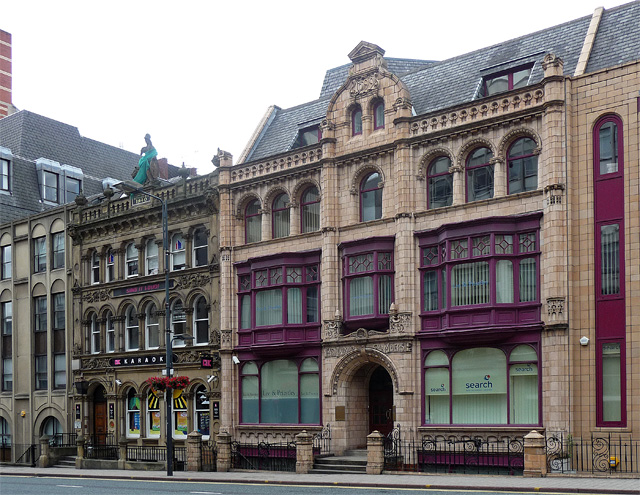 Former County Fire and Provident Life Association and East Parade Chambers, East Parade, Leeds