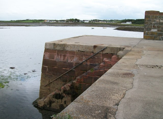The end of the quay at Killough