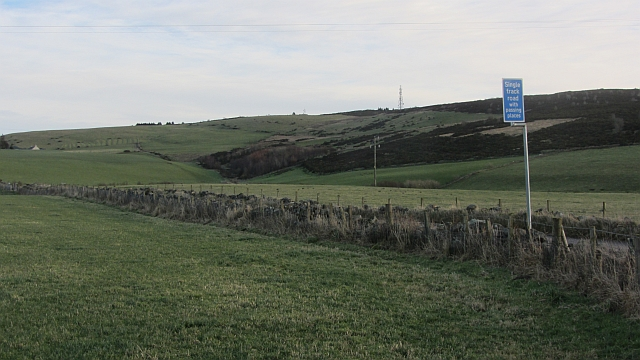 View towards Brimmond Hill
