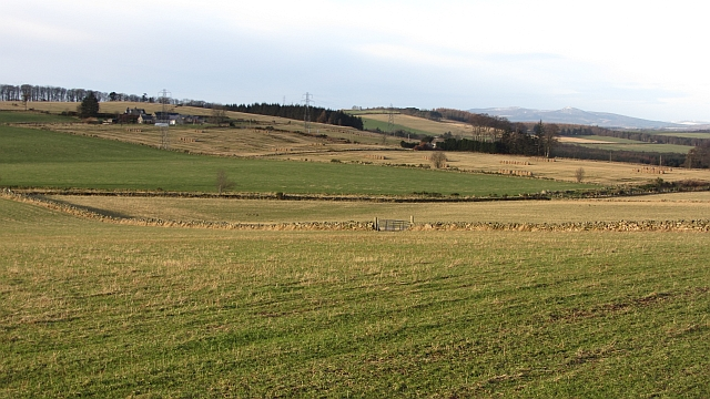 Farmland west of Elrick Hill