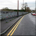 ST3390 : Broadway cycle racks, Caerleon by John Grayson