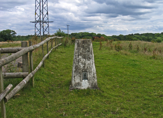 Trig point in field