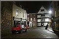 TR1558 : Borough Street at night by Oast House Archive