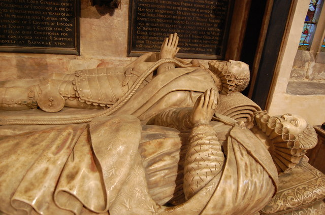 Tomb of 3rd Earl of Rutland, St Mary's church, Bottesford