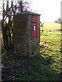TM2778 : Wood Lane Victorian Postbox by Adrian Cable