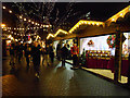 SJ8398 : Manchester Christmas Market, Brazennose Street by David Dixon